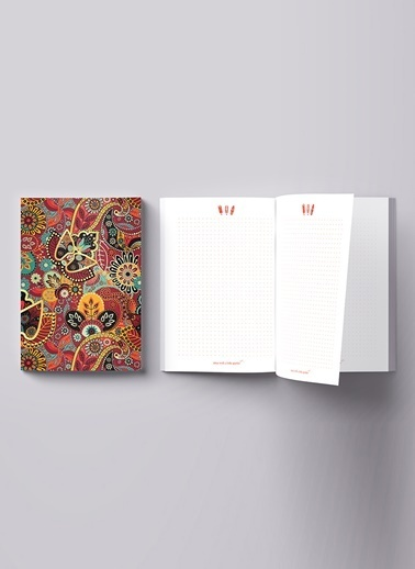LWP Shop Johannesburg Ethnic Notebook Renkli